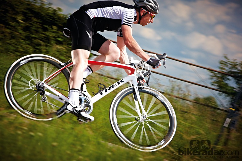 The Domane is a rare combination of smooth comfort and pinpoint precision