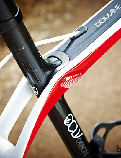 Trek's IsoSpeed decoupler allows the seat tube to flex independently