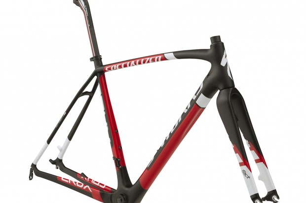 The S-Works Crux Carbon is available in either disc brake or cantilever compatible versions