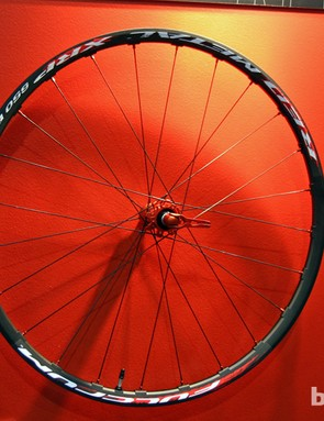 Fulcrum will debut two 27.5in/650b mountain bike wheelsets sometime next year: the top-end Red Metal XRP 650b pictured here (1,525g for the pair) and a less expensive model, too