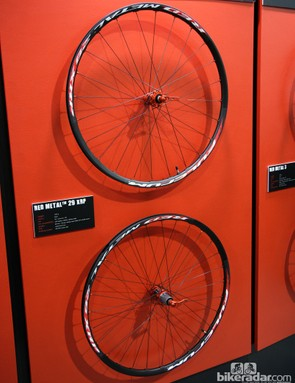 The new Fulcrum Red Metal 29 XRP wheels offer tubeless compatibility in a sturdy, 1,639g package