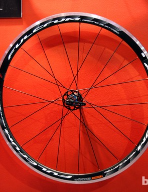 The new 35mm-deep Fulcrum Racing Quattro aluminum road clinchers are relatively inexpensive at US$550. Claimed weight is 1,725g