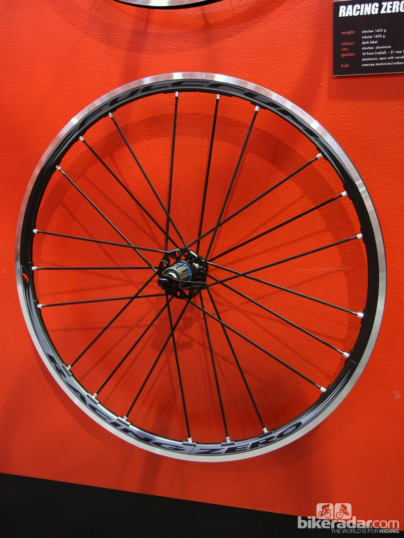 Fulcrum has cleaned up the aesthetics of its Racing Zero alloy road clinchers with a more austere all-black look