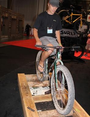 Rollin', rollin', rollin'. Keep them fat bikes rollin'