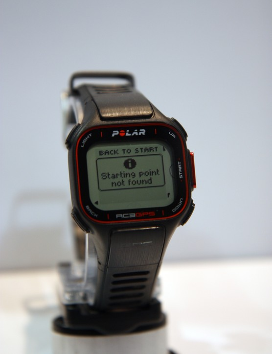 The new Polar RC3 is a multisport, GPS-enabled watch that not only tracks your position and speed by satellite but serves as a mobile coach to help direct your workouts