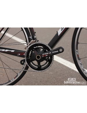 The Ultralight was one of the first bikes to use FSA's BB386 bottom bracket standard