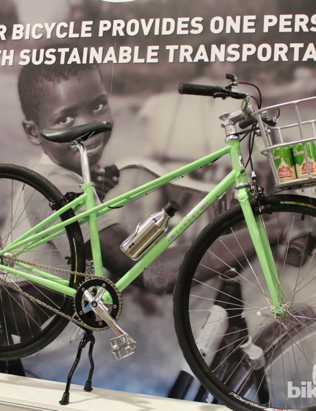 Miir debuted legit single- and five-speed city bikes that support World Bicycle Relief and the Boise Bicycle Project. Good causes.