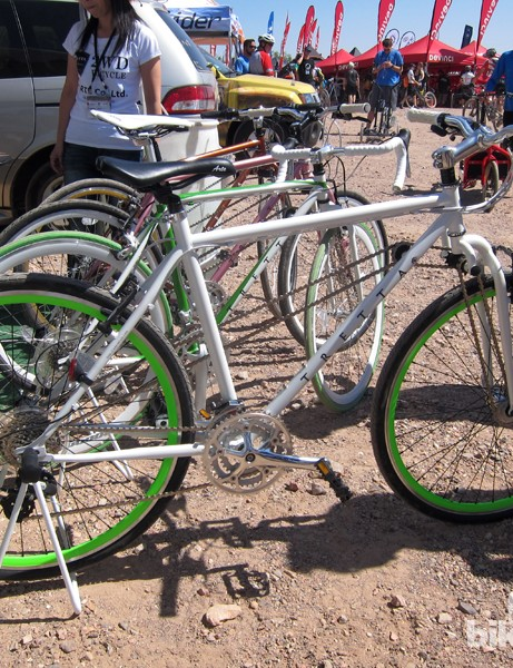 Two-wheel drive bikes from Tretta. We're not buying