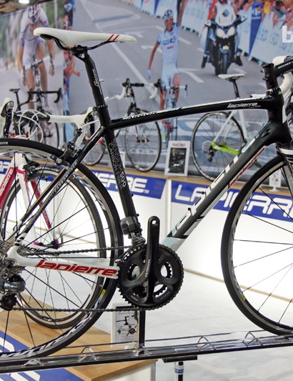 Lapierre's Sensium range offers road bike weight and efficiency but a smoother ride and more upright position