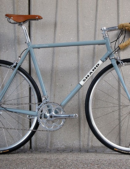 The Skinnymalinky is Scottish frame-builder Shand Cycles' first true road frame