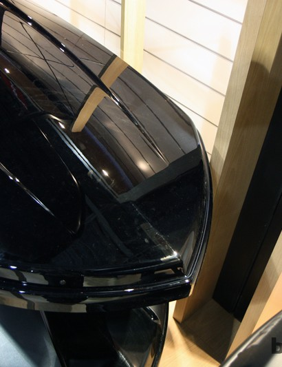 One key element to Thule's new cargo boxes is the pointed nose, which supposedly substantially reduces wind noise - and improves fuel efficiency