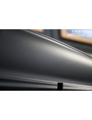 Thule claims the textured skin on the Force Alpine cargo box reduces wind noise and improves fuel efficiency
