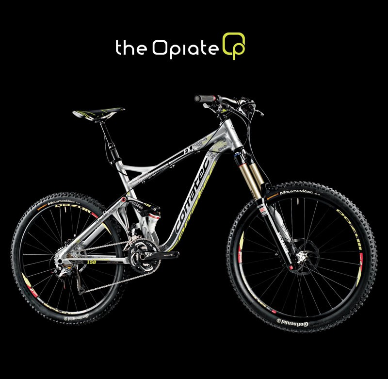 The Corratec Opiate is designed with races like Megavalanche in mind