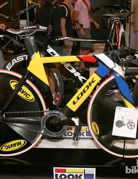 Look's world championship winning L96 track bike, a true speed machine