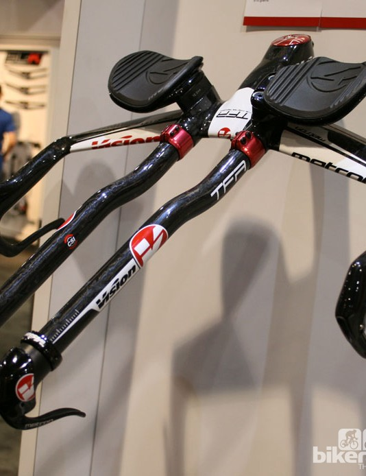 Vision's Metron TFA bars, another handlebar that costs four figures