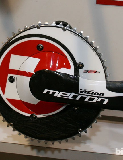 The Vision Metron crankset. Looks lethal!