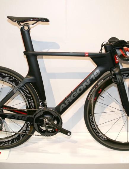 Argon 18's new E118 time trial machine
