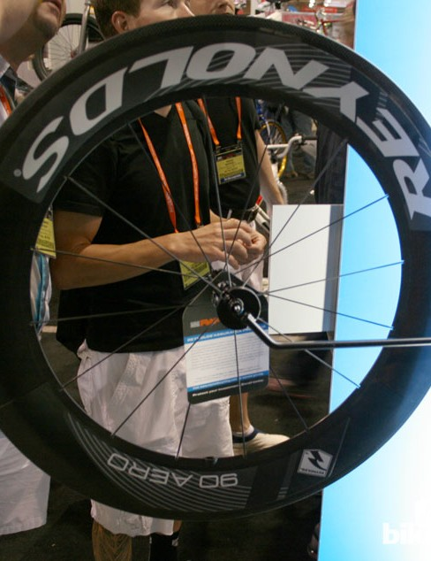 REynolds Aero 90 wheel, featuring the aero technology used on the top end RZR models