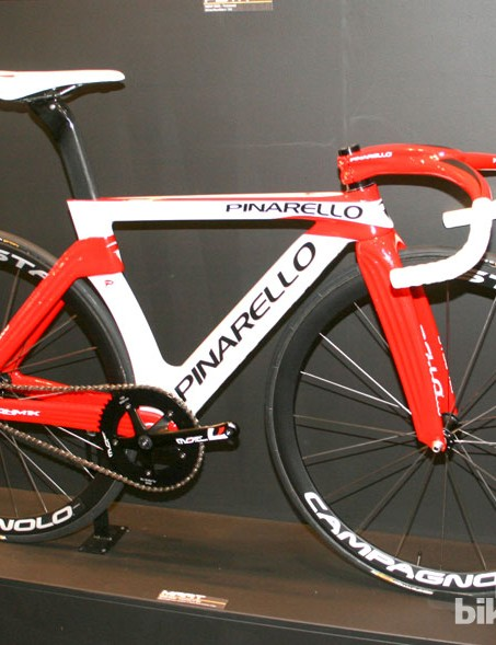 The bars give this Pinarello an Ibex like appearance