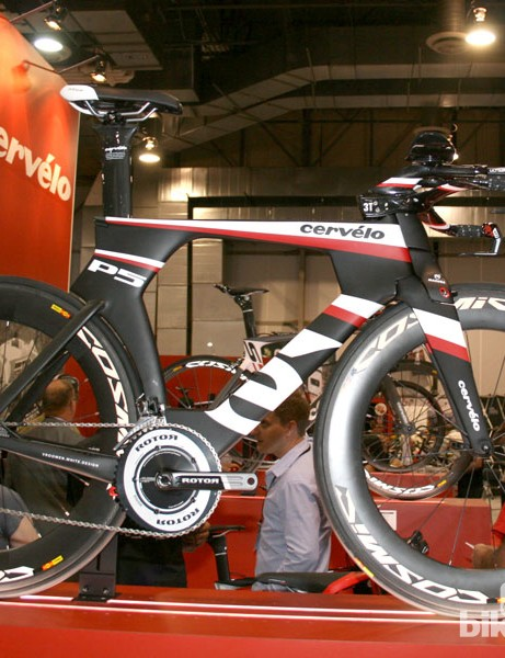 You can't have a go fast feature without the Cervelo P5
