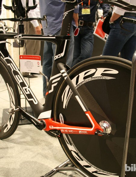 Felt's DA time trial frame was ridden to victory in the Olympics by Kristin Armstrong this year