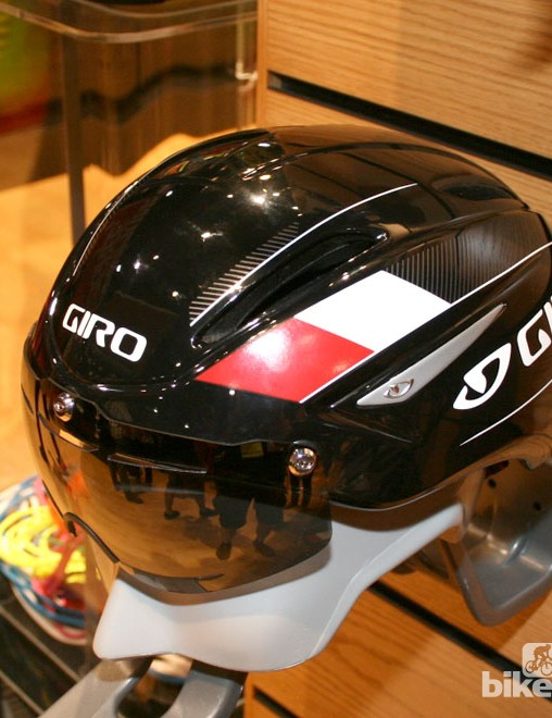Giro's new go faster road helmet, the Air Attack