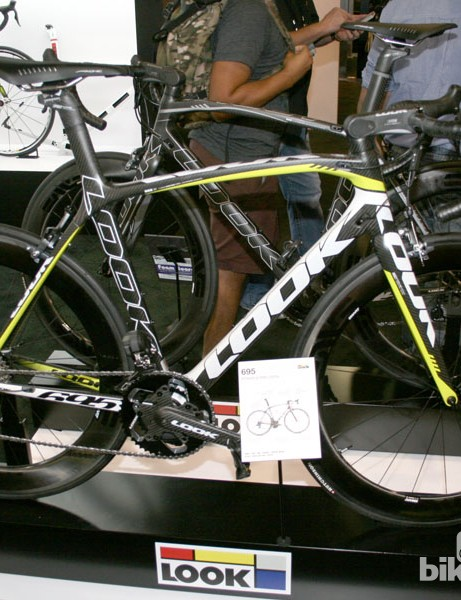 Worth a LOOK - a 695 with ENVE 6.9 wheels