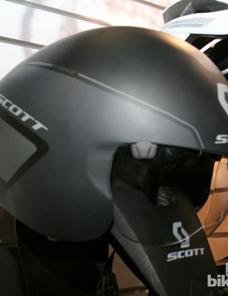 Scott Split aero helmet, as worn by Orica-GreenEdge