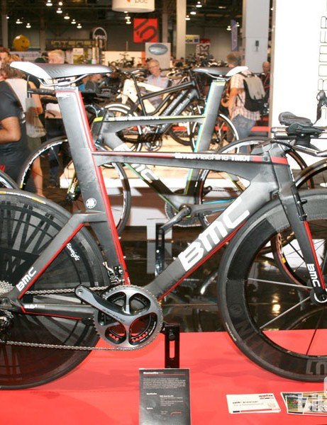 BMC Time Machine TM01 with a Lightweight disk + VR8 combo. Sweet.