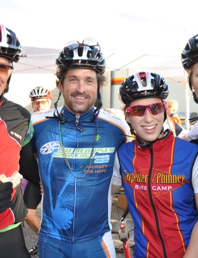 The Carpenter/Phinney family came out to support the Dempsey Center in 2011