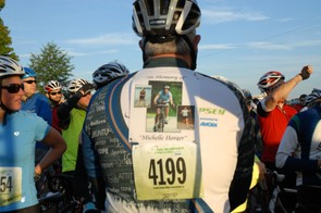 Many attendees ride in honor of loved ones