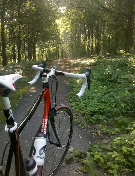 Saturday morning ride
