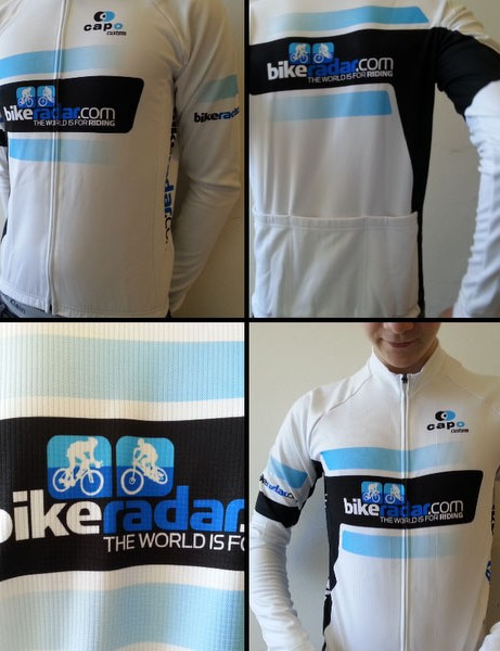 Two Training members have won an exclusive BikeRadar team jersey for entering their great cycling shots