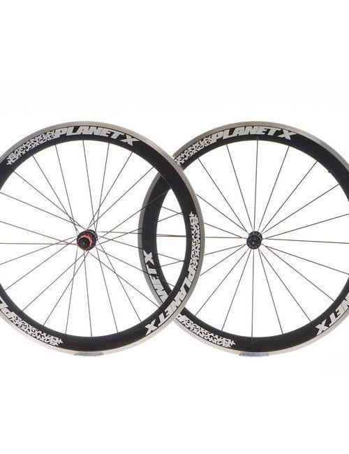 Planet X 52mm aero carbon clinchers