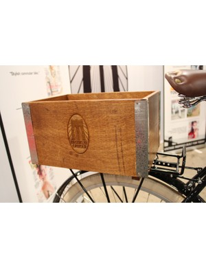 Brooklyn Cruiser's one and only accessory - the wooden crate