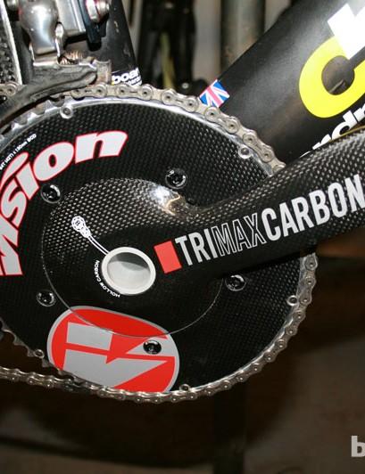 Vision TriMax TT crankset, 54/42