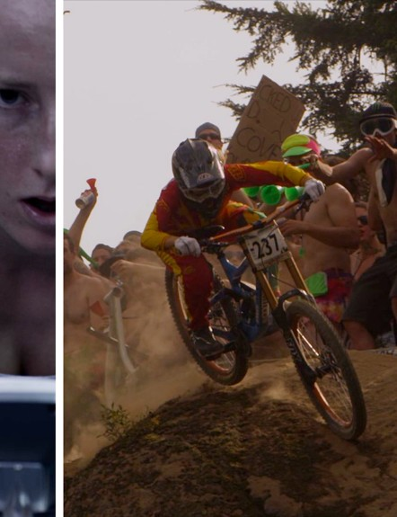 Casey Brown goes from the exercise bike to the race course
