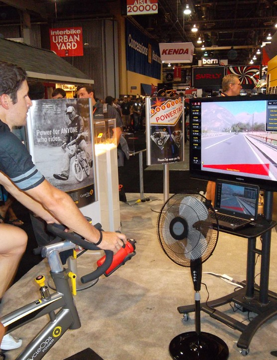 CycleOps $349 Virtual Training syncs your pedaling with courses you can download or create