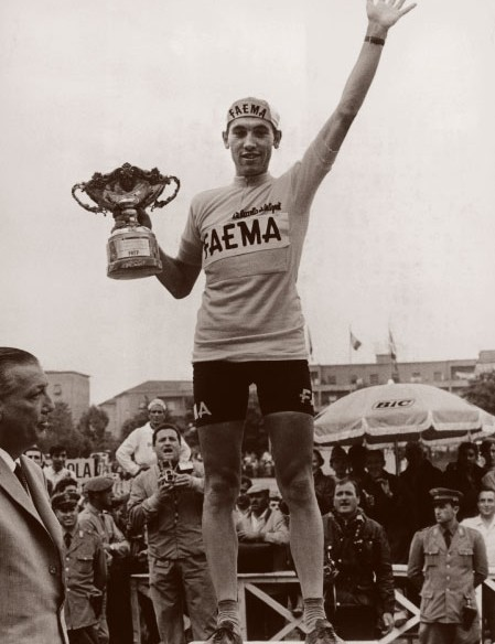 Eddy Merckx won his first Giro in 1968