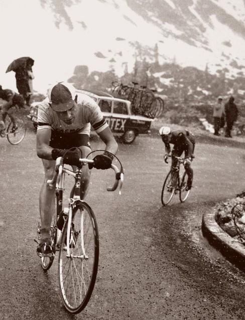 Merckx in the 1968 Giro