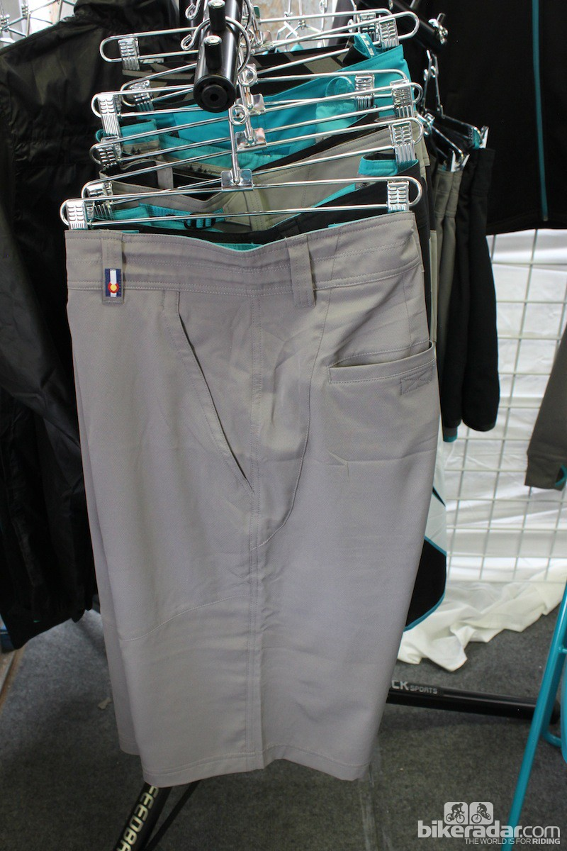 The XC-oriented Teller shorts have a slim cut and are constructed from very lightweight fabric