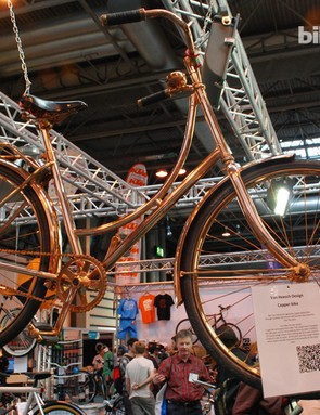 The copper-plated Van Heesch is yours for £3,600