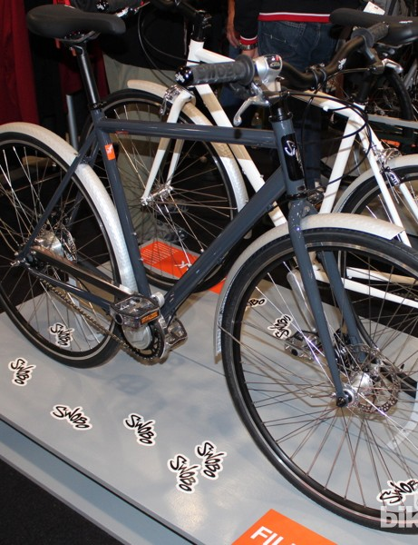 Swobo still has Asian-made city bikes in its line, like this 8-speed, $1,049 Fillmore