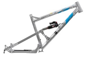 The new head tube on the Nicolai Ion 16 is said to maximise traction on the front wheel thanks to its lower front end