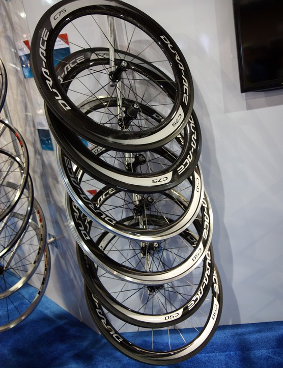 Shimano has moved to wider aero rim profiles for 2013