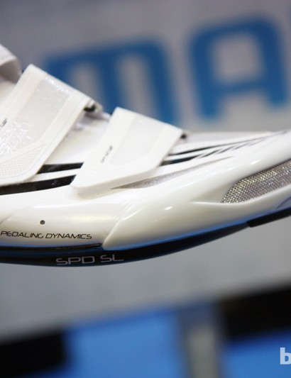 Nearly all of Shimano's latest road shoes now sport a flatter sole that the company claims produces less foot fatigue during long days in the saddle
