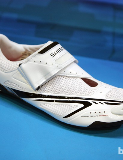 New for 2013 is the triathlon-specific Shimano SH-TR60 shoe