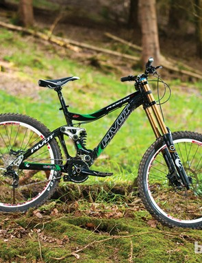 The Pivot Phoenix DH is a solid and confidence inspiring downhill bike