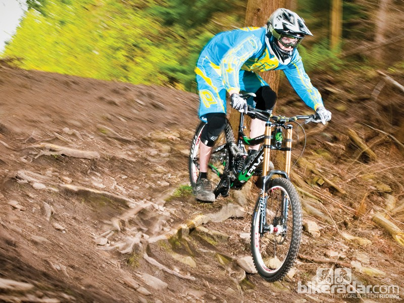 The Phenix is a solid, stable heavy-hitter that's at its happiest being ridden hard