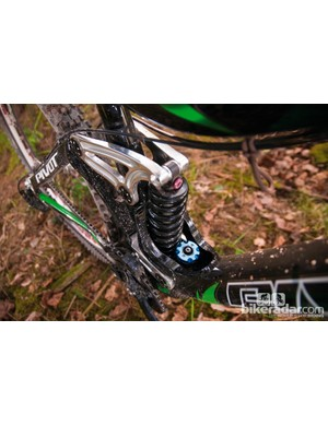 The Fox RC4 shock offers masses of useful adjustment